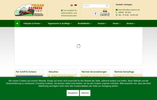 Vorschau von www.vulkan-express.de, Vulkan-Expreß