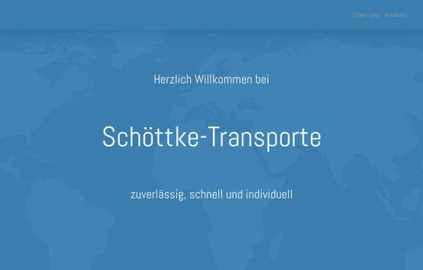Vorschau von www.schoettke-trans.de, Kai Uwe Schöttke, Textiltransporte und Kurierfahrten