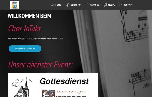 Vorschau von www.chorintakt-stuttgart.de, Chor InTakt Stuttgart-Mühlhausen