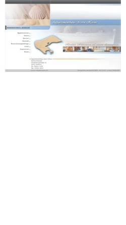 Vorschau der mobilen Webseite www.brantjes.de, Appartementhaus Isern Hörns