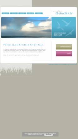 Vorschau der mobilen Webseite www.aswe.de, Ferienhaus Schweizer