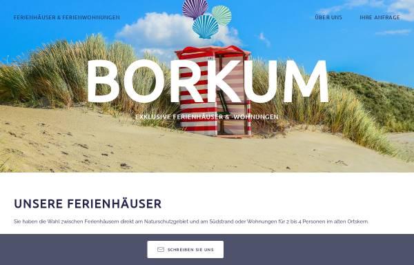 Vorschau von www.ferieninsel-borkum.de, Ferienhaus Strandloper