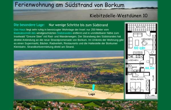 Vorschau von www.hikon.de, Ferienwohnung - Paul Hilden