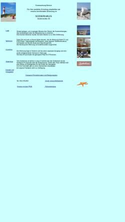 Vorschau der mobilen Webseite www.borkum-ferienhaus.de, Ferienwohnung, Familie Brandt-Groscurth