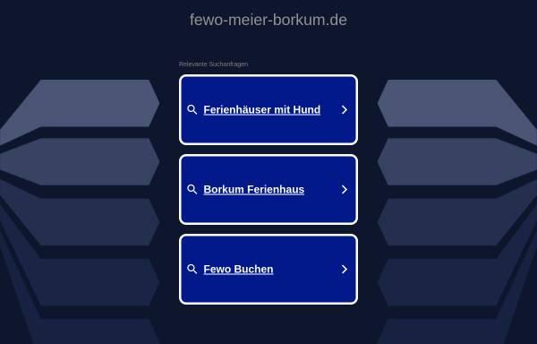 Vorschau von www.fewo-meier-borkum.de, Ferienwohnungen Günther Meier