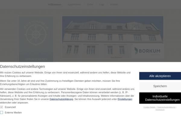 Vorschau von www.hausnordmeer.de, Haus Nordmeer, Familie Meyer-Gerhards