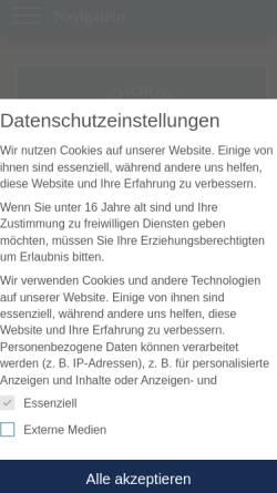 Vorschau der mobilen Webseite www.hausnordmeer.de, Haus Nordmeer, Familie Meyer-Gerhards