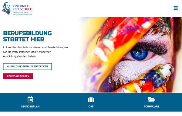 Vorschau von kbbz-sb.de, KBBZ Friedrich-List-Schule Kaufmännisches Berufsbildungszentrum Stengelstraße