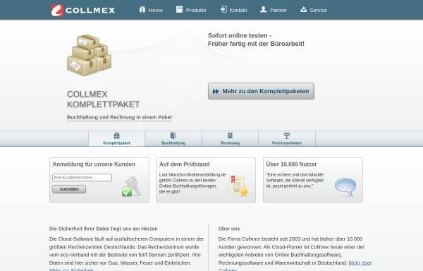 Vorschau von www.collmex.de, Collmex GmbH