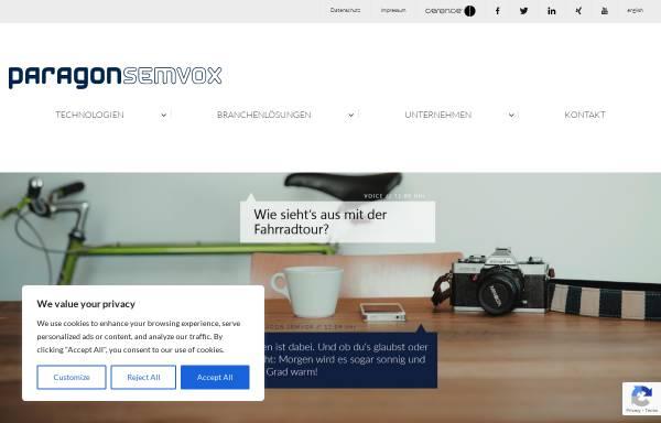 Vorschau von www.semvox.de, Semvox GmbH