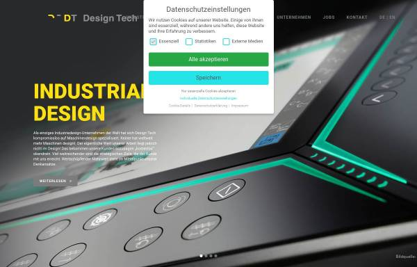 Vorschau von www.designtechschmid.de, Design Tech Jürgen R. Schmid