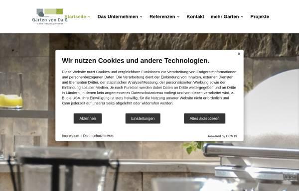 Vorschau von www.daiss-garten.de, Günther Daiss Gartengestaltung