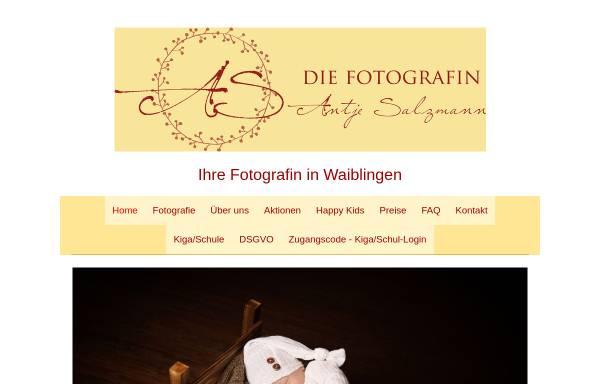 Vorschau von diefotografin-waiblingen.de, Die Fotografin Antje Salzmann