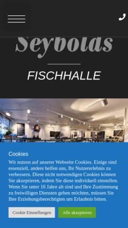 Vorschau der mobilen Webseite seybolds-fischhalle.de, Seybold's Fischhalle