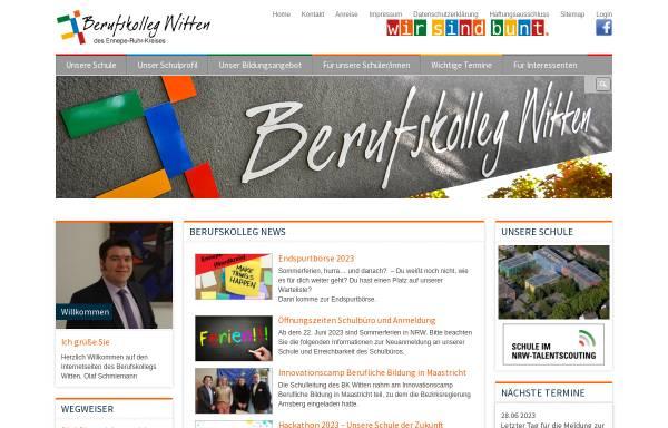 Vorschau von www.bkwitten.de, Berufskolleg Witten
