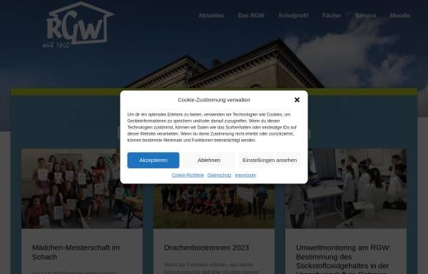 Vorschau von www.ruhr-gymnasium.de, Schiller - Gymnasium Witten