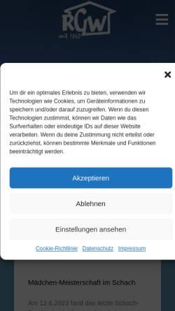 Vorschau der mobilen Webseite www.ruhr-gymnasium.de, Schiller - Gymnasium Witten