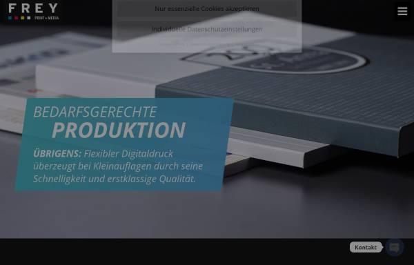 Vorschau von www.freymedia.de, Frey Print + Media GmbH
