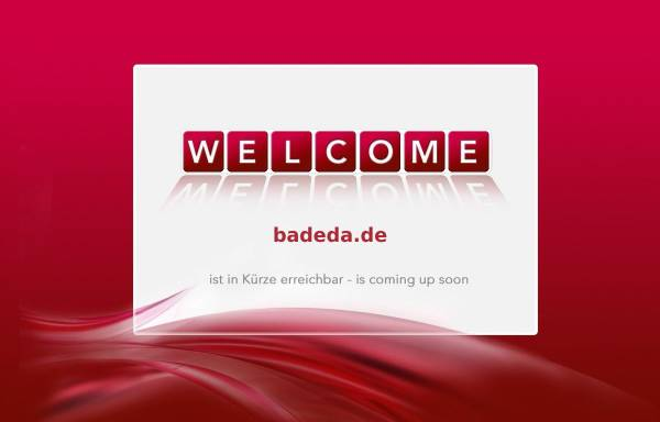Vorschau von www.badeda.de, BA DE DA elektronic