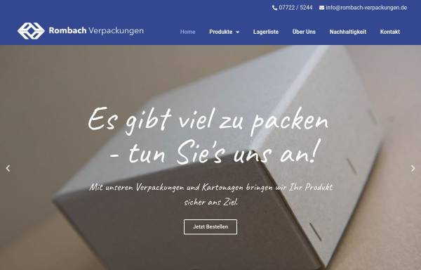 Vorschau von rombach-verpackungen.de, Rombach Verpackungen