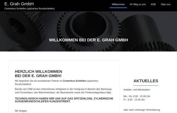 Vorschau von www.toleranzschleifen.de, E. Grah GmbH
