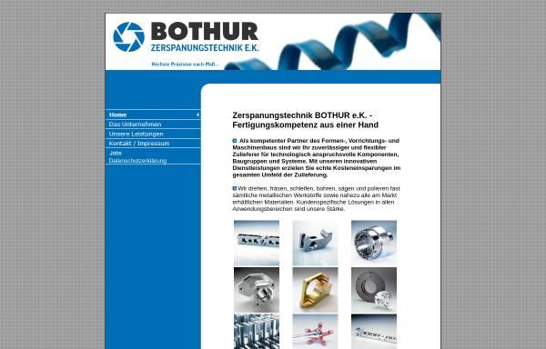 Vorschau von www.b-z-t.de, Bothur Zerspanungtechnik OHG