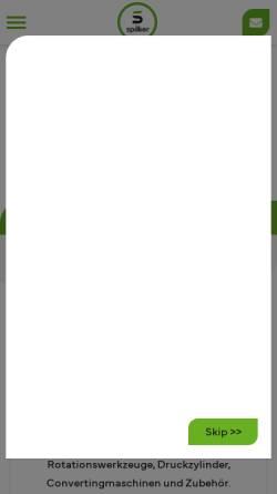 Vorschau der mobilen Webseite www.spilker.com, Spilker GmbH