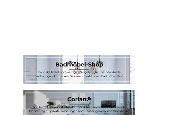 Vorschau von www.henneke.com, Henneke Formbau GmbH