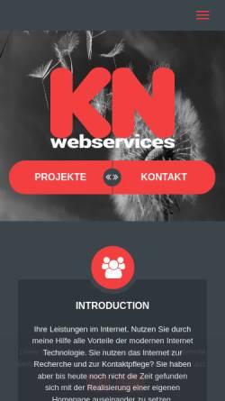 Vorschau der mobilen Webseite www.niermann.com, Niermann Telekommunikation