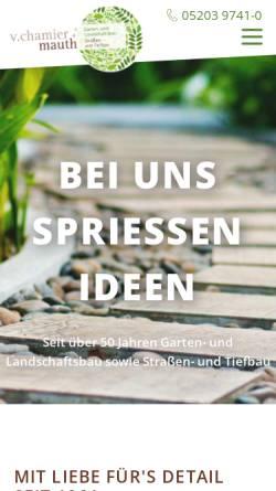 Vorschau der mobilen Webseite www.handwerk-werther.de, Handwerksbetriebe in Werther