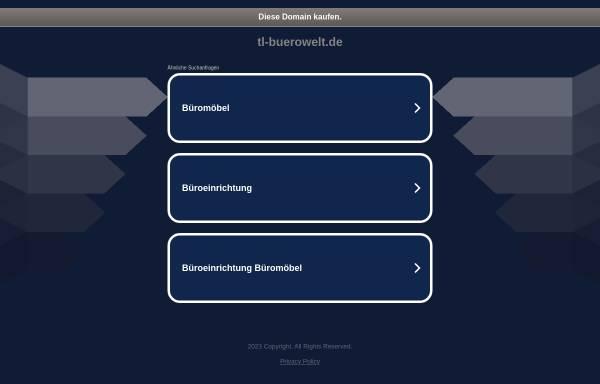 Vorschau von www.tl-buerowelt.de, TL Bürowelt GmbH