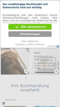 Vorschau der mobilen Webseite www.papier-buch-haas.at, Haas Papier Buch