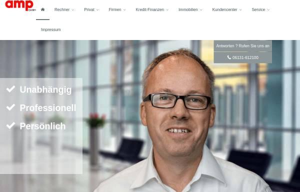 Vorschau von www.amp-gmbh.de, amp Assekuranz Management Poetini GmbH