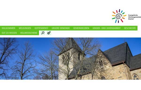 Vorschau von www.ev-kirche-brackel.de, Kirchengemeinde Brackel