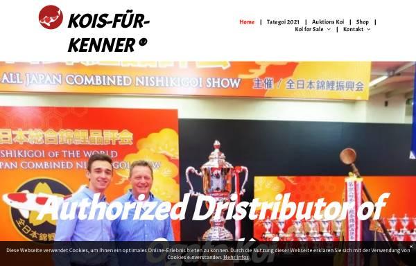 Vorschau von www.kois-fuer-kenner.de, Kois für Kenner