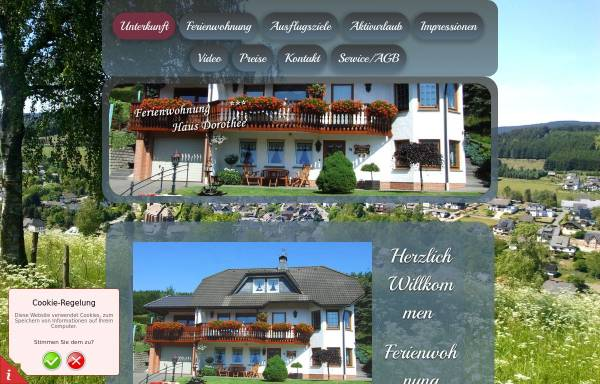 Vorschau von www.hausdorothee.de, Haus Dorothee