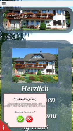 Vorschau der mobilen Webseite www.hausdorothee.de, Haus Dorothee