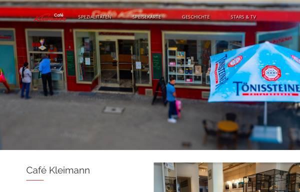 Vorschau von www.cafe-kleimann.de, Cafe Kleimann