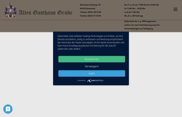 Vorschau von www.altes-gasthaus-grube.de, Altes Gasthaus Grube