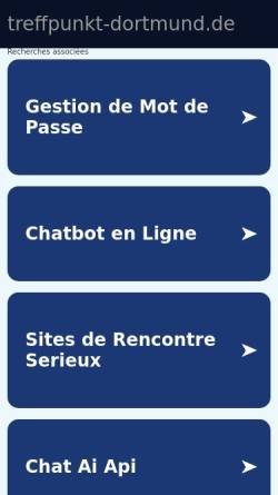Vorschau der mobilen Webseite www.treffpunkt-dortmund.de, Treffpunkt
