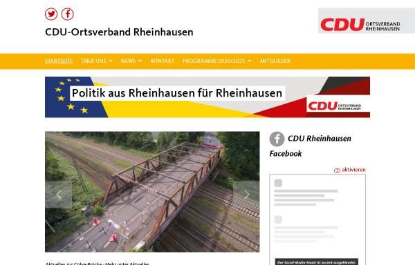 Vorschau von www.cdu-duisburg-rheinhausen.de, CDU Duisburg-Rheinhausen