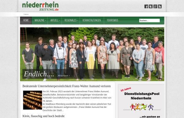 Vorschau von www.niederrheinzeitung.de, Niederrhein Zeitung