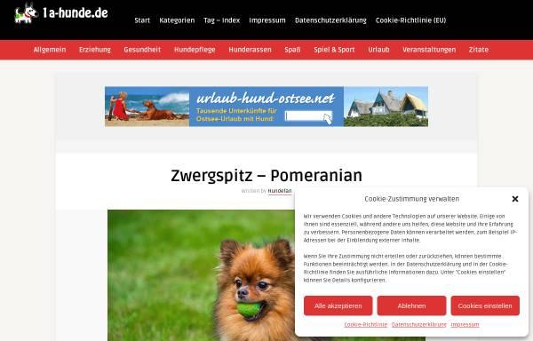 Vorschau von www.zwergspitz-pomeranian.de, Von Palatina Aurora