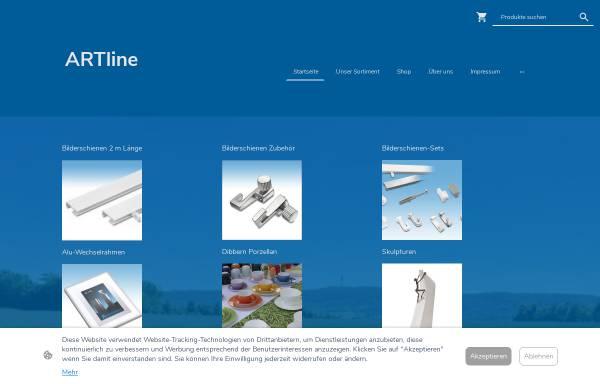 Vorschau von artline-shop.de, ArtLine-Shop