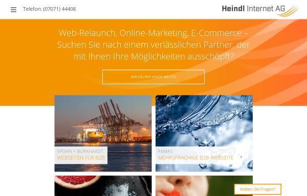 Vorschau von www.heindl.de, Heindl Internet AG