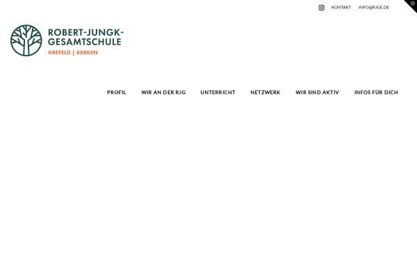 Vorschau von www.rjge.de, Robert-Jungk-Gesamtschule