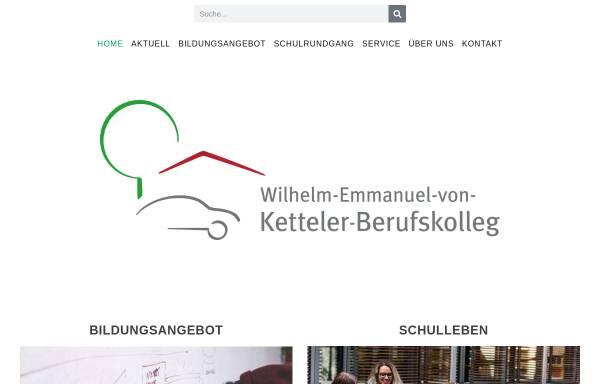 Vorschau von www.ketteler-berufskolleg.de, Wilhelm-Emmanuel-von-Ketteler-Berufskolleg