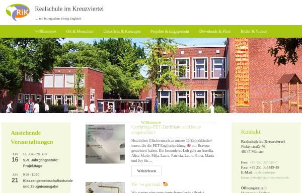 Vorschau von rik-muenster.de, Realschule im Kreuzviertel (RIK)
