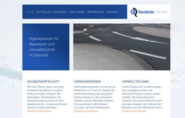Vorschau von www.redeker-gmbh.de, Redeker GmbH