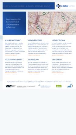 Vorschau der mobilen Webseite www.redeker-gmbh.de, Redeker GmbH